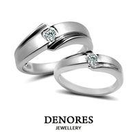DENORES LOVE STORY 10分真鑽情人對戒