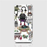 HeadphoneDog耳機狗音響人iPhone手機殼(經典白)-行動