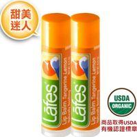 Lafes 純自然護唇膏-柑桔檸檬 x2-行動