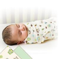 【美國Summer Infant】聰明懶人育兒包巾-加大貓頭鷹2入組-行動