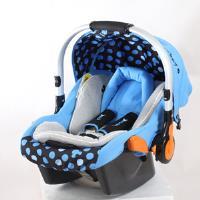 【VIVIBABY】迪士尼米奇/米妮提籃安全座椅(米奇藍/米妮粉)