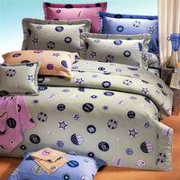 艾莉絲-貝倫 時尚學院(6.0呎x6.2呎)四件式雙人加大(高級混紡棉)薄被套床包組(綠色)