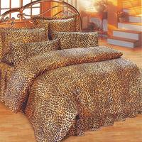艾莉絲-貝倫 豹紋世界(3.5呎x6.2呎)三件式單人(高級混紡棉)薄被套床包組