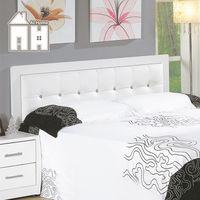 【AT HOME】亞斯6尺白色水鑽雙人床頭片(不含床底、床墊)