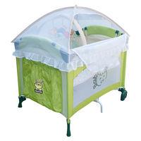 Babybabe 拱型遊戲床-半配款(高頂蚊帳/玩具架/雙層架)