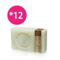 GreenLand皇室寵愛絲滑緊緻核桃馬賽皂12入(木盒組)