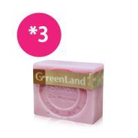 GreenLand 玫瑰香氛絲滑平衡馬賽皂(3入體驗組)