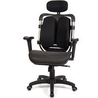 aaronation 愛倫國度 - 黑爪網布坐墊雙背式辦公電腦椅 (i-119MHSGA-1)