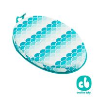 Creative Baby創寶貝-外出野餐防水舒適座墊/洗澡跪墊 日式和風 (Bath Kneeler)