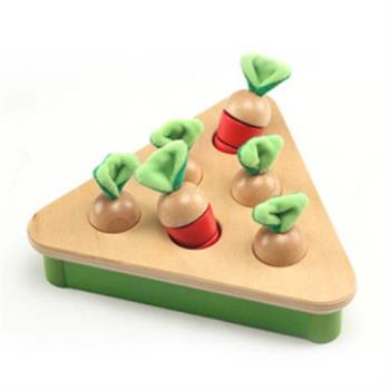 【PlayMe】拔蘿蔔對對樂~顏色配對記憶與扮演玩具