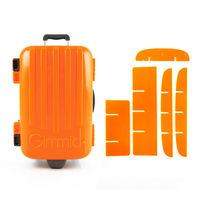 【iGimmick】魔術分裝收納盒 橘色行李箱-行動