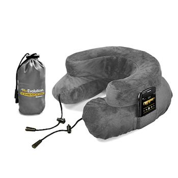 【CABEAU】專利進化護頸充氣枕-灰色-行動