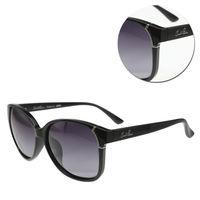 【Arnold Palmer 花雨傘】優雅方形漸層灰黑色太陽眼鏡(AP11665-C025)