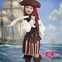 【天使霓裳】派對服 海上小公主 萬聖節童裝系列(咖啡M)-TH1255