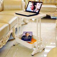 LIFECODE《悠活》二層可移動茶水桌/ 筆電桌/ 餐車 -行動
