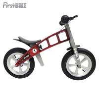 FirstBike 德國高品質設計 寓教於樂-兒童滑步車/學步車(火箭紅)