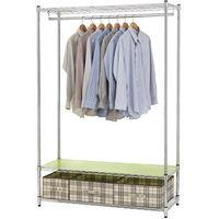 【莫菲思】百變金鋼-三層衣櫥架120x45x180cm