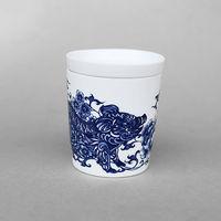 【青花皇后楊莉莉】生肖杯-豬(諸事平安)