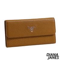 Diana Janes 牛皮多夾層實用長夾