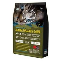 【Allando】奧蘭多 天然無穀貓鮮糧(阿拉斯加鱈魚+羊肉) 2.27公斤 X 1包
