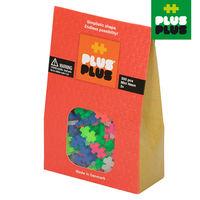 【BabyTiger虎兒寶】++Plus-Plus 加加積木 - Mini 小顆粒-霓紅系列 300 pcs (袋裝)