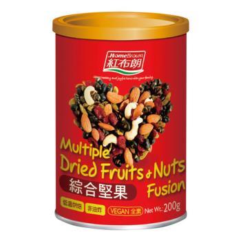 任-任選 紅布朗 綜合堅果 200g(罐)