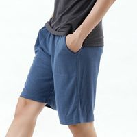 【TOMATO BEAR】型男涼感休閒短褲 (藍)