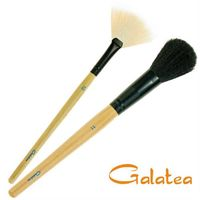 GALATEA葛拉蒂彩顏系列- 羊毛腮紅刷+扇形餘粉刷