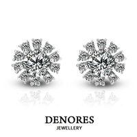 DENORES 綻陽 GIA F/VS2 30分天然鑽石耳環