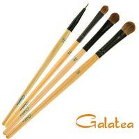 GALATEA葛拉蒂彩顏系列- 馬毛閃亮眼影刷4支組