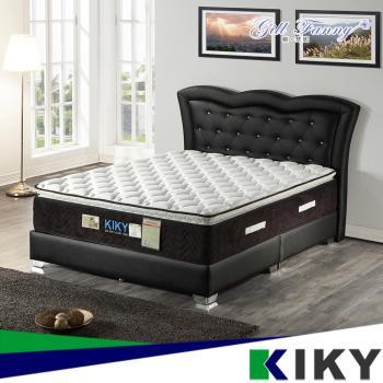 KIKY 姬梵妮二代永恆之星護背機能型彈簧床墊-雙人加大6尺