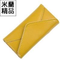 【米蘭精品】鑰匙包男女皮套韓版簡約時尚手拿真皮10色