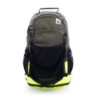 【美國 AIRWALK】簡易時尚攜帶式球類運動後背包-墨綠
