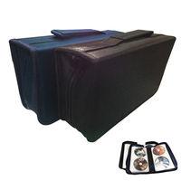 PUSH! 居家生活用品加厚內頁光碟收納包CD DVD光碟包收納盒(128片)I55-1藍色