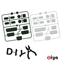 [ZIYA] 筆記型電腦 桌上型電腦 防塵孔塞 -經典黑白 (兩組入)