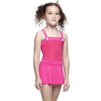 【SARBIS】MIT女童連身裙泳裝附泳帽B88411