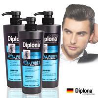 【德國Diplona沙龍級】機能活力洗髮精600ml(l超值三入)