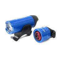 【D-Light】CG2312 鋁合金LED超高亮度前後警示燈組(台灣製)-烤漆藍