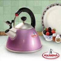 【美心 Masions】珍珠鍋系列-日式笛音壺 2.5Ltr(魅力紫)