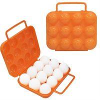 【迪伯特DIBOTE】出便攜蛋盒/雞蛋收納盒(12顆裝)
