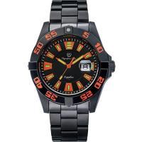 Olympia Star 奧林比亞之星-夜空使者炫彩氚氣石英腕錶-橘 98019TGB