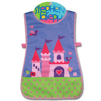 【Stephen Joseph】童趣造型防水圍裙-公主城堡
