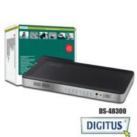 曜兆DIGITUS HDMI ~超高解析四入二出切換器(付遙控器)