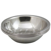 omax高級不銹鋼湯碗10件組(大3入中3入小3入+保溫保冷袋1入-隨機)