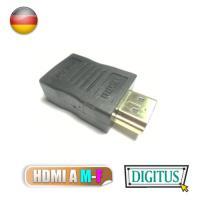曜兆DIGITUS HDMI專用鍍金接頭(公對母)