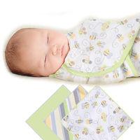 【美國Summer Infant】聰明懶人育兒包巾-蜜蜂條紋3入組