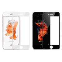 【hoco】Apple iPhone 6/6S Plus 3D曲面滿版鋼化玻璃貼