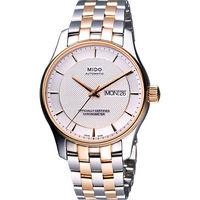 MIDO Belluna II 天文台認證機械腕錶(M0014312203192)-半金/39mm
