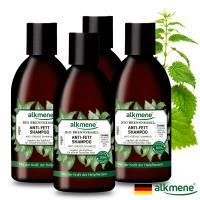 【德國Alkmene草本耀典】大蕁麻養髮洗髮露4件組