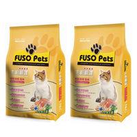 【FUSO Pets】主廚嚴選貓食-鮮鮭嫩蝦 飼料 20磅 X 2包